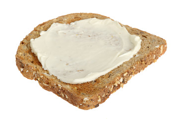 Wholemeal Toast with Soft Cheese
