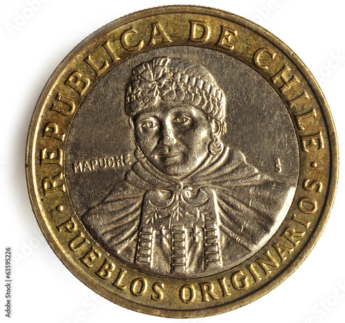 Peso chileno Chilean currency money チリ・ペソ