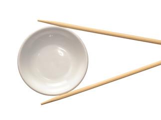 Concepto de gastronomía japonesa,sujetando un plato.