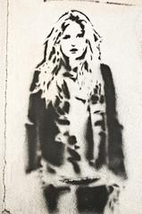 Graffiti femme