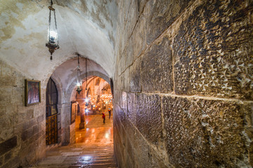 Church of the Holy Sepulchre - Crusader graffiti