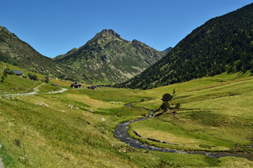 Andorra: arroyo en Vall d'Incles