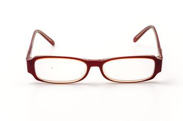Eyeglasses isolated white background