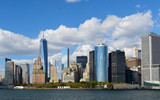 Fototapety New York Financial District