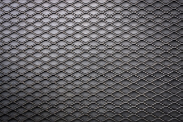 Steel grating background