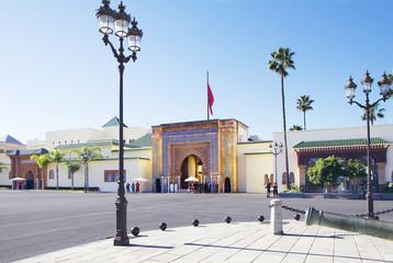 Morocco. Rabat. Royal Palace.