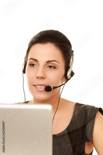 Business online customer service representative