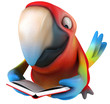 canvas print picture - Parrot