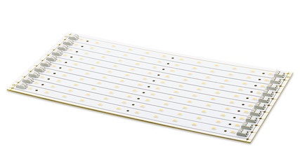 SMD LEDs on White PCB, LED Light Assembly