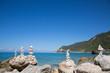 Traumhafte Ausblick auf die Küste Griechenlands