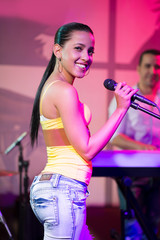 Cuban female singer