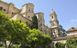 canvas print picture - Malaga, Altstadt, Kathedrale, Sommer, Spanien