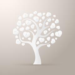 Paper tree icon