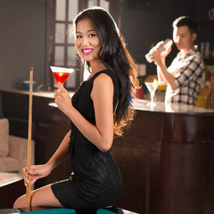 Young Vietnamese lady