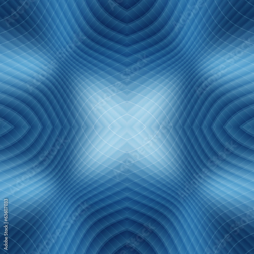 seamless blue twisted fantasy space line abstract background