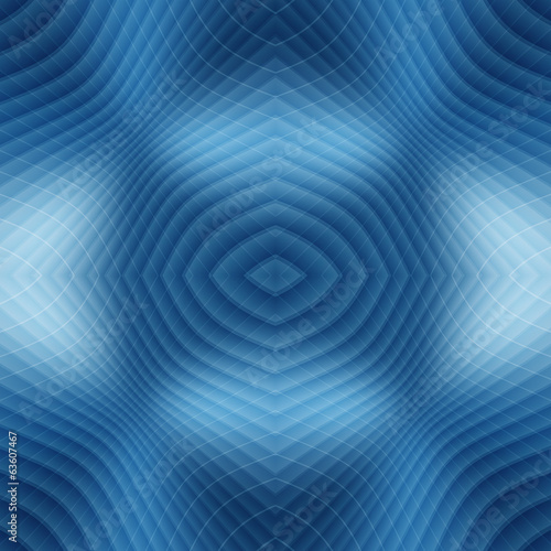 blue seamless twisted fantasy space line abstract background