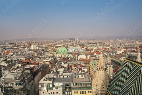 Panorama of Vienna