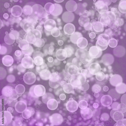 A transparent soap bubble background design with room for text