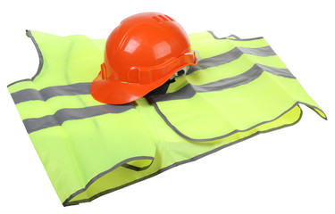 Hard hat and vest