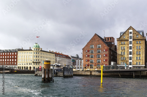 Waterfront of channel, Copenhagen
