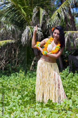 hawaii hula dancer