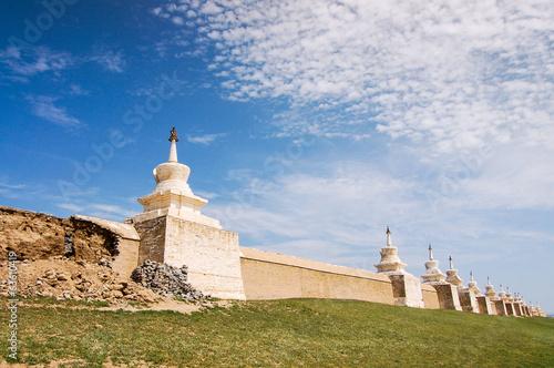 Papiers peints Fortification Erdene Zuu Monastery, Kharhorin