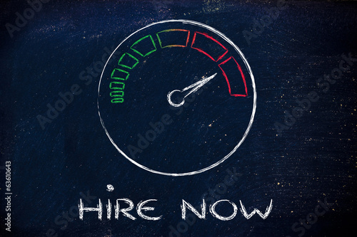 speedometer and time running fast: hire now