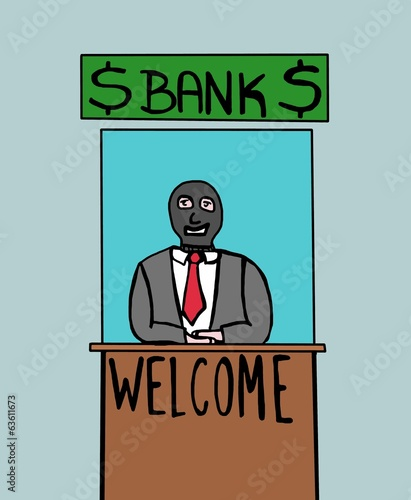 welcome to the bank