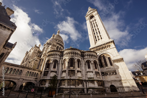 Sacre-Coeur Basilica in Paris