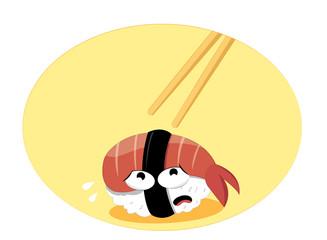 Funny Sushi Death