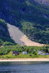Fugløyas sandfall