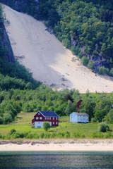 Norwegian sandfall