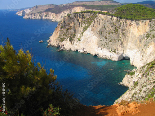 Foto op Plexiglas Cyprus Zakynthos Coast 3
