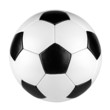 canvas print picture - retro soccer ball