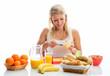Gesundes Frühstück zubereiten