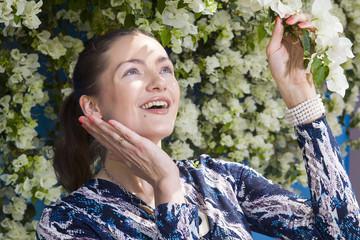 Spring with a heady blossom smell