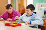 Fototapety cognitive development of kids with disabilities