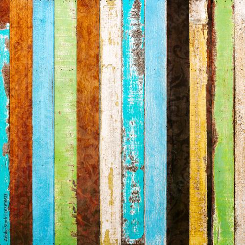 vintage rough wood plank