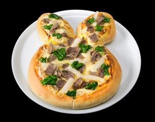 Pizza Ostern
