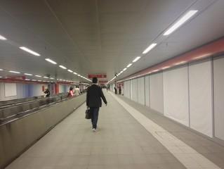 verso la metropolitana