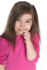 Cunning little girl