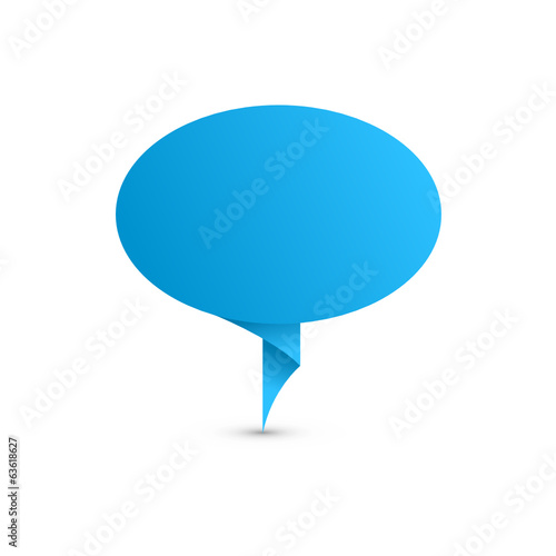SPEECH BUBBLE Icon (web forum chat testimonials button)