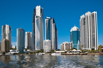 Australia, the Gold coast, Surfers Paradise