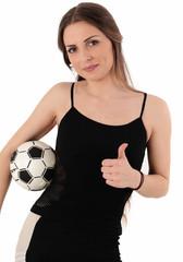 Fußball Spielerfrau