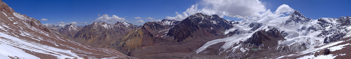 Panorama of mountains