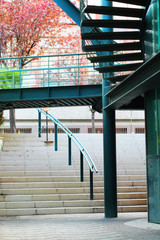 External stairs building