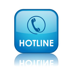 """""""HOTLINE"""" Web Button (contact us tech customer service support)"""