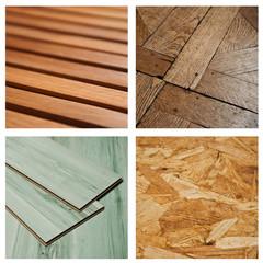Composition texture bois