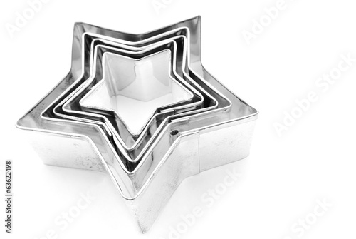 Stars cookie cutter