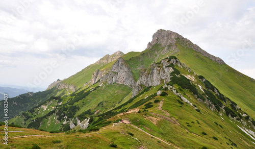 Mountains -  Belianske Tatry, Slovakia, Europe